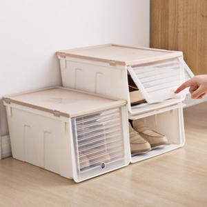 加厚透明鞋盒抽屉式鞋塑料箱