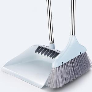 家用软毛扫把簸箕套装