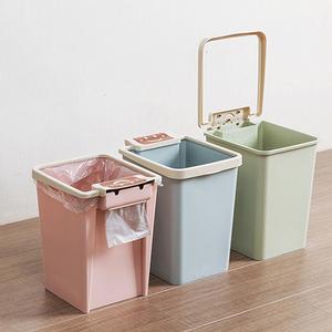 卫生间压圈方形厨房无盖垃圾篓